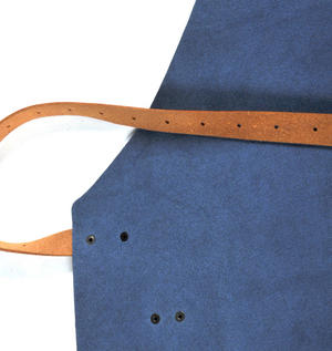 Mr. Smith Cheese Apron - Blue Leather Culinary Apron by Boska Thumbnail 7