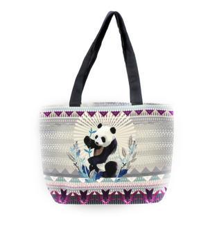 Panda Curiosités Sauvages Bag Shopper Sac