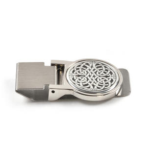 Celtic Neverending Knot Money Clip - Revised Design Thumbnail 3