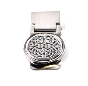Celtic Neverending Knot Money Clip - Revised Design Thumbnail 4