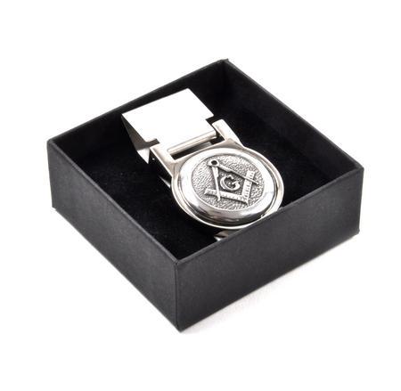 "Masonic ""G"" Money Clip - Revised Design"