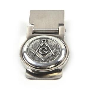 "Masonic ""G"" Money Clip - Revised Design Thumbnail 3"