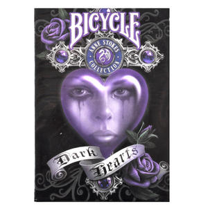 Dark Hearts Anne Stokes Bicycle Playing Cards