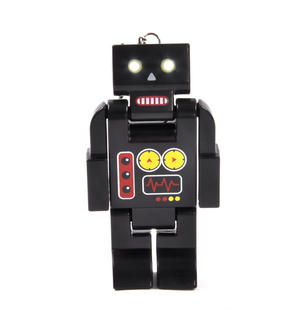 Robo Torch - Robot Torch with LED Eyes