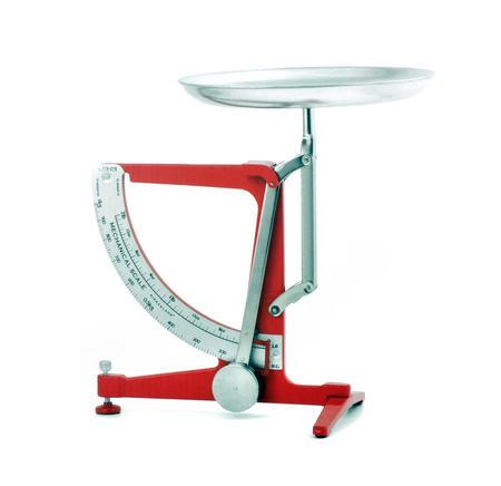 "Mechanical Kitchen Scale - 8 x 10"" / 20 x 25cm - 1kg Max"