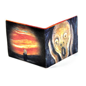 Edvard Munch's Scream Sonic Wallet - Tough Tyvek Wallet with Sound Effects Thumbnail 4