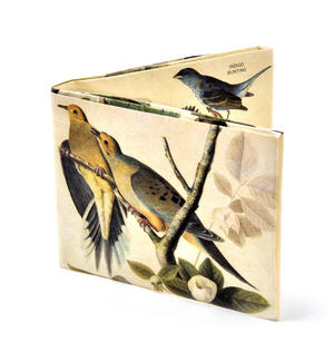 John Audubon's Birds Bird Song Sonic Wallet - Tough Tyvek Wallet with Sound Effects
