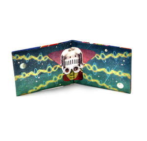 Unidentified Flying Objects Sonic Wallet - Tough Tyvek UFO Wallet with Sound Effects Thumbnail 6