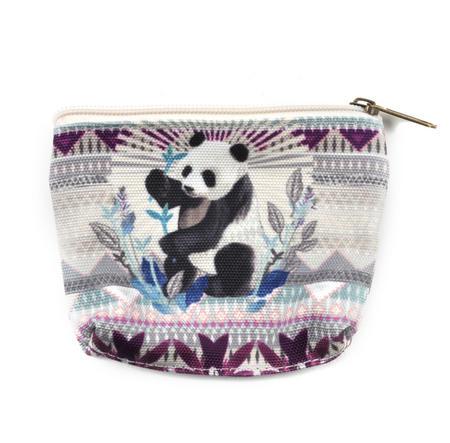 Panda Curiosités Sauvages Coin Purse