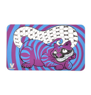 """Cheshire Cat 'We Are All Mad Here"""" Credit Card Leaf & Herb Hand Grater"""