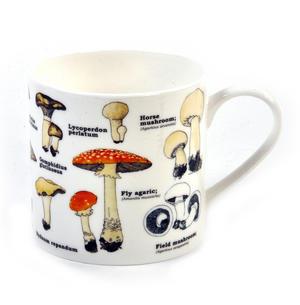 Mushrooms Encyclopaedia Mug