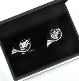 Cufflinks - French Horns for Composer / Musician / Orchestra