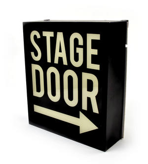 Stage Door Box Light
