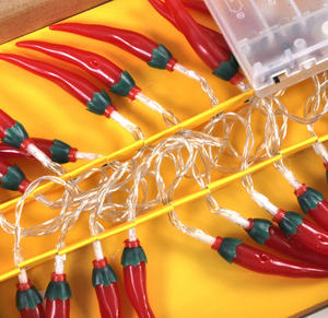 Chili Peppers String Lights Thumbnail 3