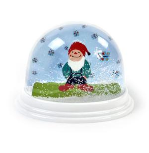 Garden Gnome Snow Globe