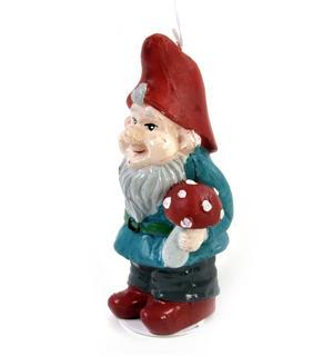 Garden Gnome Candle