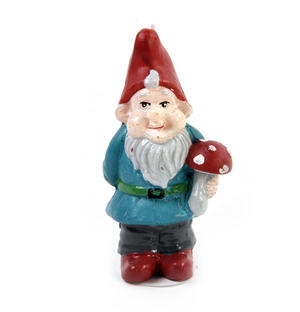 Garden Gnome Candle Thumbnail 3