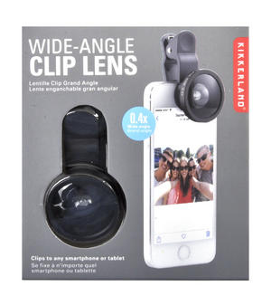 Wide Angle Selfie Clip Lens - Transform Your Mobile Camera Thumbnail 1