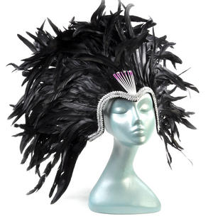 Carnival Ball Festival Feather Headdress