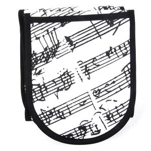 Music Manuscript Black & White Oven Gloves - for Composer / Musician / Orchestra Thumbnail 2