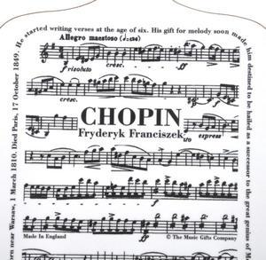 Fryderyk Franciszek Chopin - Little Chopin Board Chopping Board Thumbnail 3