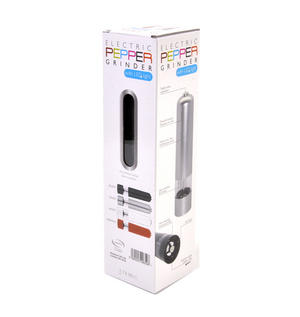 Electric Pepper Grinder with LED Light - Random colours Thumbnail 4