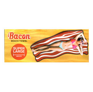 Bacon Beach Towel - 180cm  Super Large Thumbnail 3