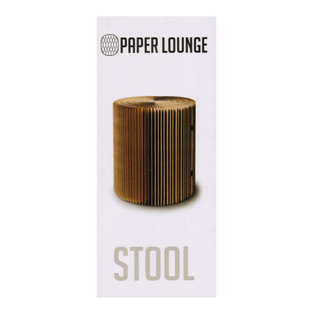 Large Stool & Felt Top by Paper Lounge - Portable Concertina Design / Supports up to 100kg