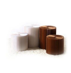 Large Stool & Felt Top by Paper Lounge - Portable Concertina Design / Supports up to 100kg Thumbnail 3
