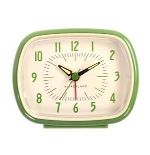 Retro Alarm Clock with Luminous Hands 11 x 9 x 6 cm / 4 x 3  x 2 inches