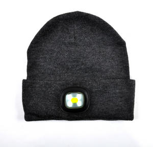 Bright-I Beanie - Beanie hat with built in Superbright LED torch.