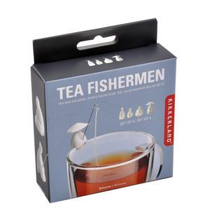 Tea Fishermen Tea Bag Holders - Set of 4 Thumbnail 2