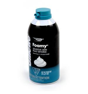 Shaving Foam Branded Stash Tin