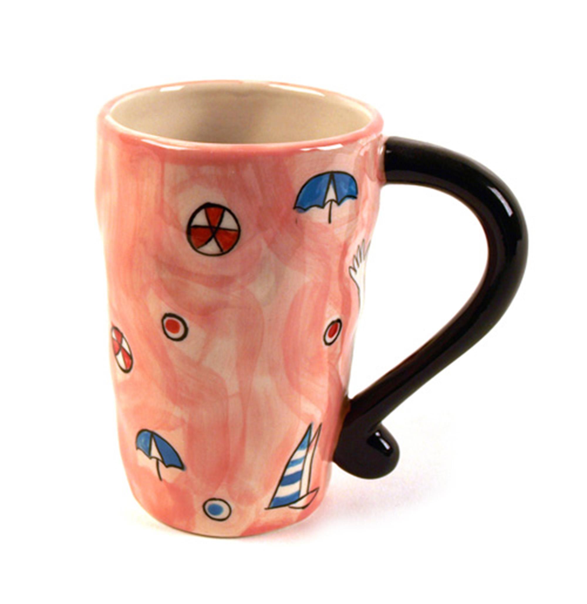 Beautiful Boobs Babe 3d Mug Red Star Bikini Pink Cat Shop