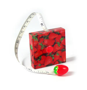 Strawberries Tape Measure Thumbnail 2