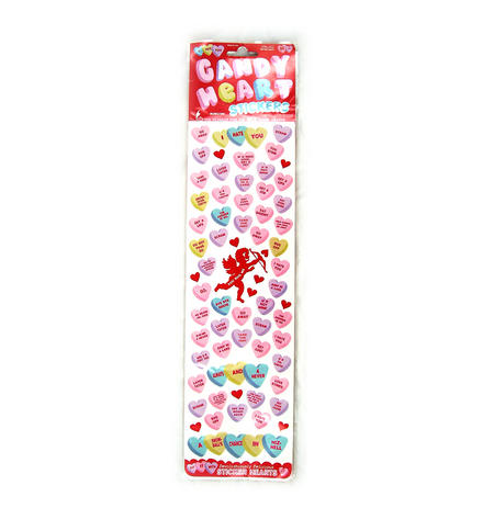candy hearts sticker set a collection of the sweetest love heart candy