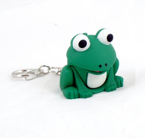 S frosch licht up keychain mit ger usch fx ebay - Frosch auf englisch ...