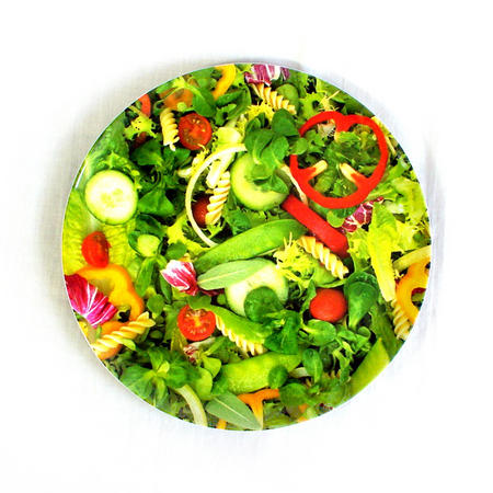 Green Salad - 28cm Large Melamine Plate