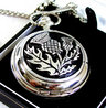 View Item Scottish Thistle Pocket Watch