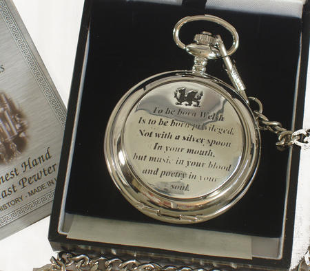 Born Welsh Pocket Watch