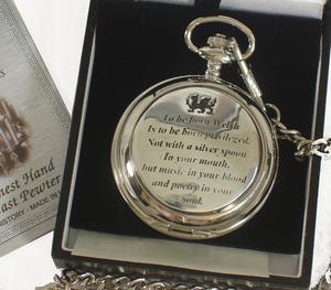 Born Welsh Pocket Watch Thumbnail 1