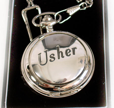 Usher Pocket Watch - Wedding Souvenir Watch