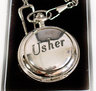Usher Pocket Watch - Wedding Souvenir Watch