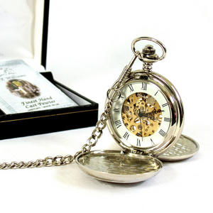 Groom Pocket Watch - Wedding Souvenir Watch Thumbnail 3