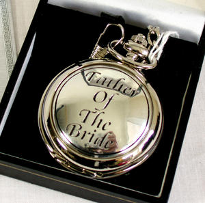 Father Of The Bride Pocket Watch Thumbnail 1
