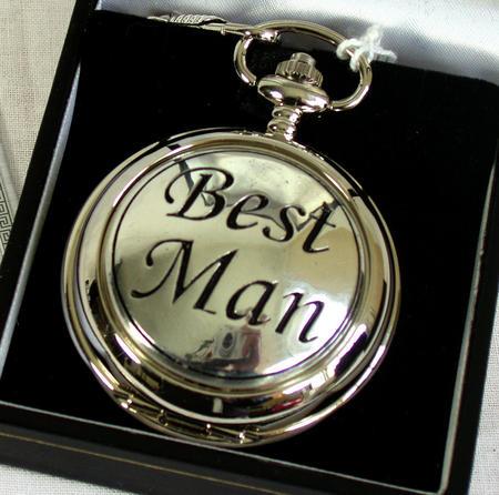 Best Man Pocket Watch