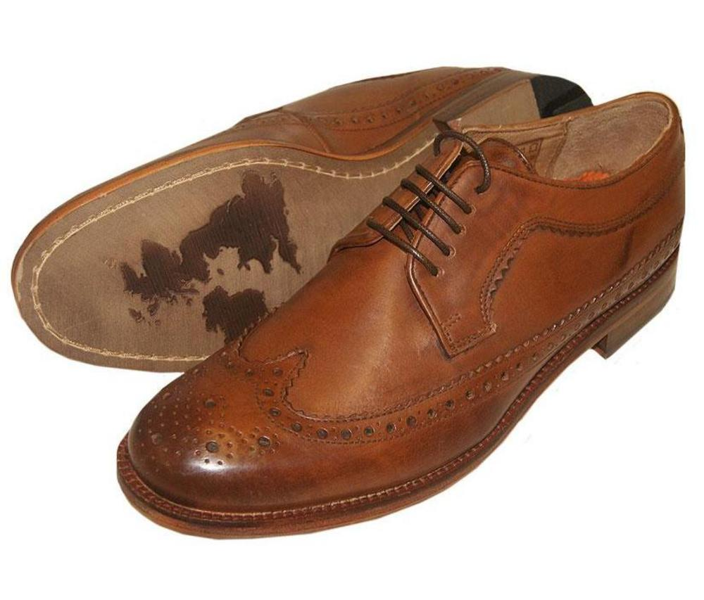 ben sherman low wing brogue leather shoe adaptor