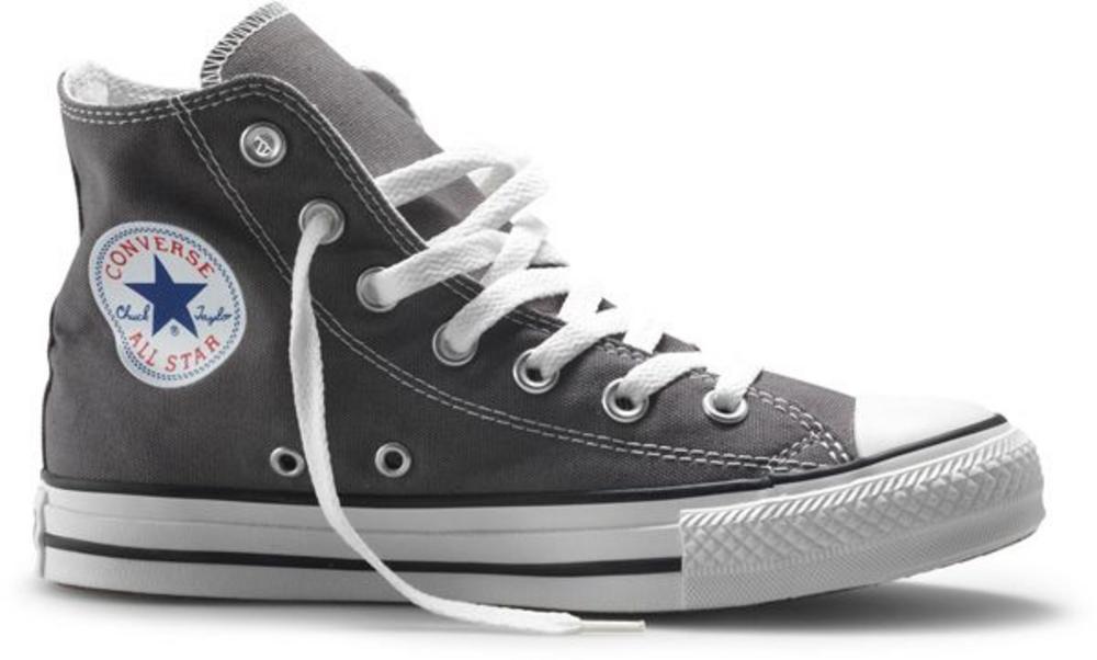 36a176ca4cd0 Converse Chuck Taylor All Star Hi Top Canvas Trainer Boot 1J793 Charcoal  Grey 4