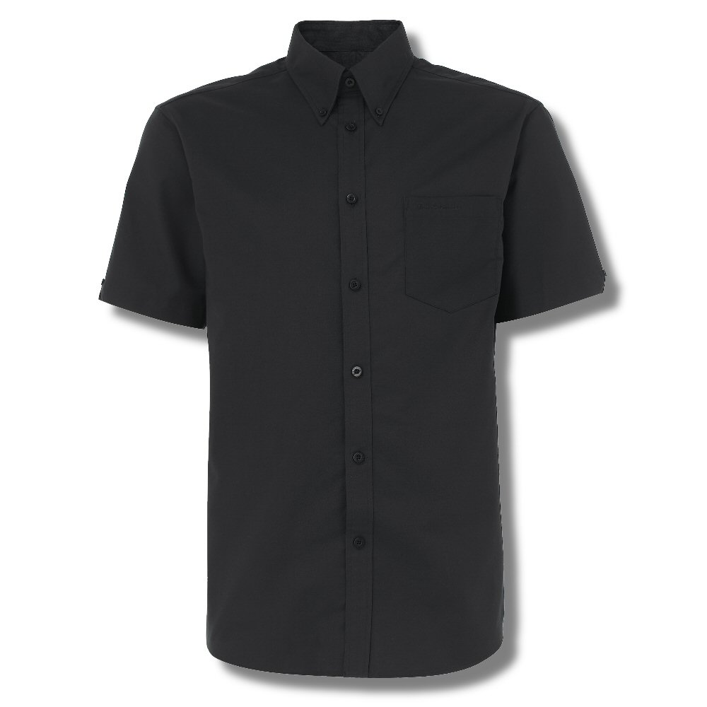 Ben sherman classic short sleeve button down oxford shirt for Black oxford button down shirt