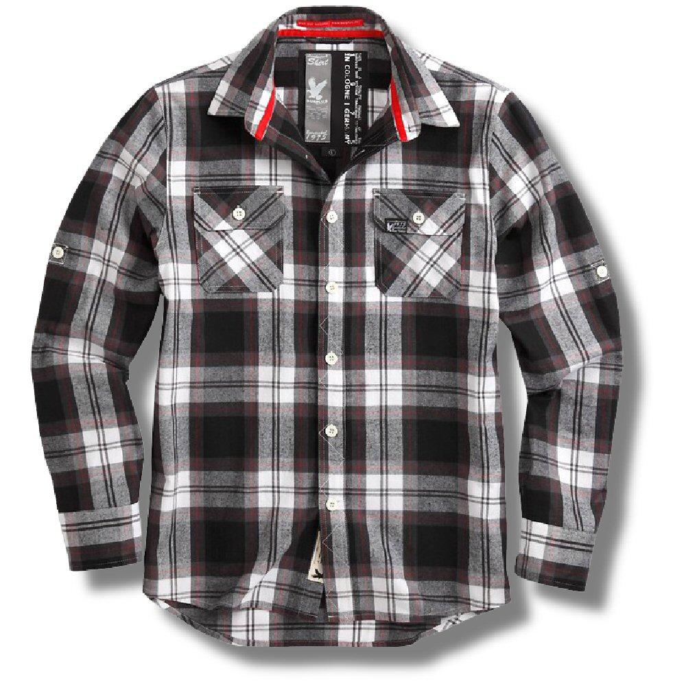 Surplus Raw Vintage Lumberjack Brushed Cotton Check Shirt